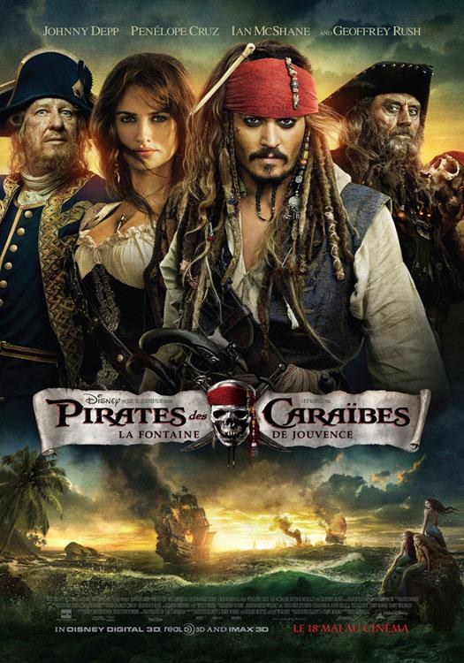 Pirates des caraibes 4