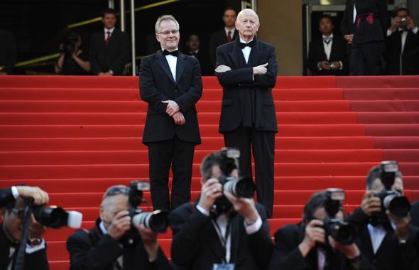 Thierry Frémaux et Gilles Jacob