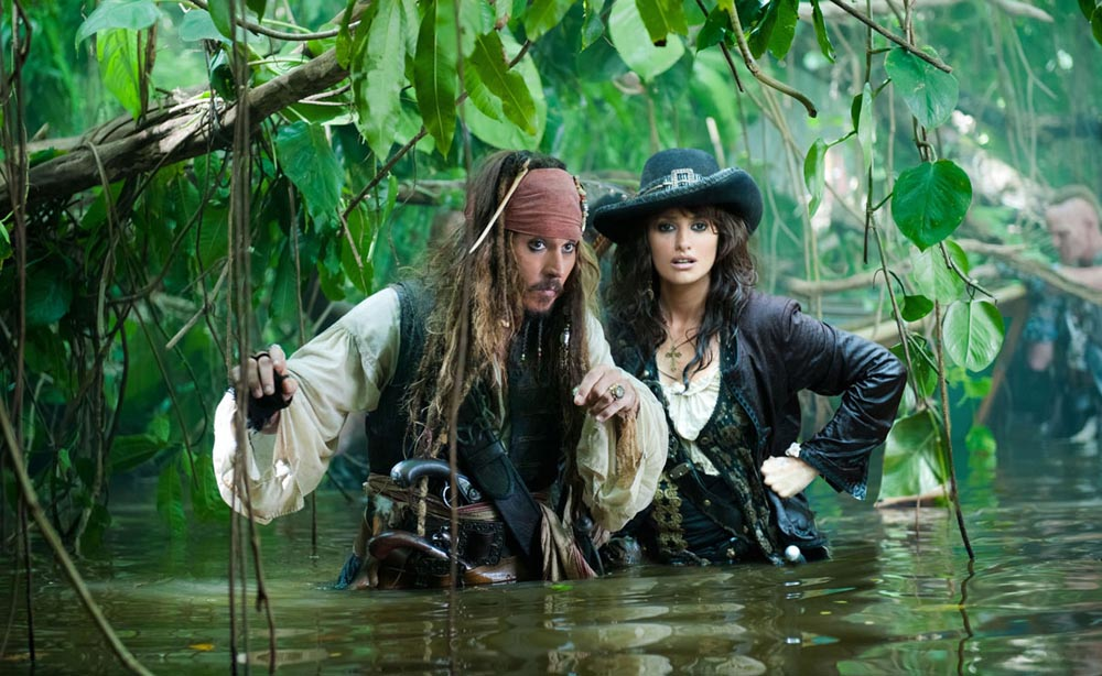 Pirates des Caraïbes 4 la fontaine de Jouvence